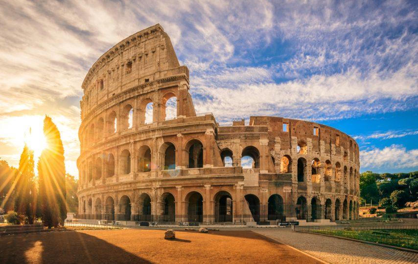 Colosseum Roma Andrew Hidayat KPK