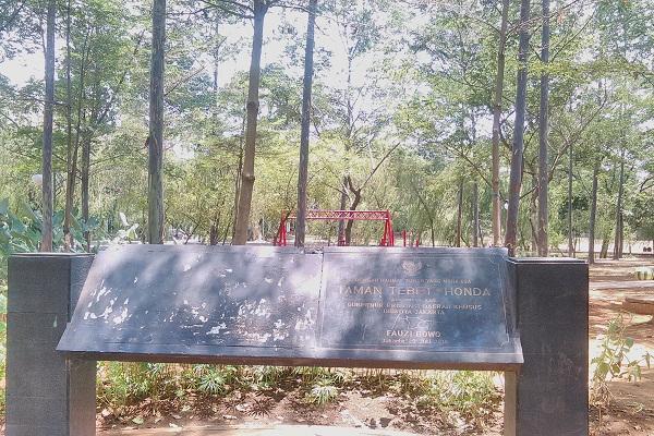 Taman Honda Andrew Hidayat KPK
