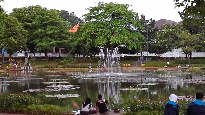 Taman Spathodea Andrew Hidayat KPK