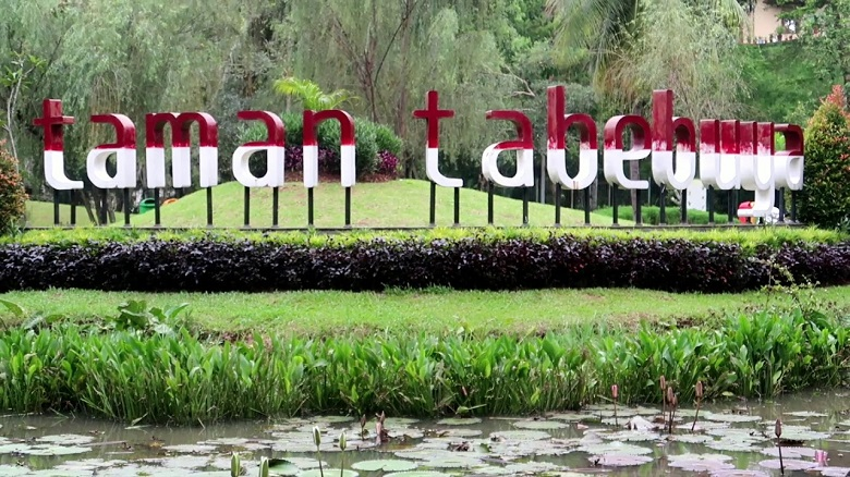 Taman Tabebuya Andrew Hidayat KPK
